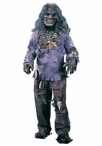 Fun World Complete 3-D Rotting Zombie Boy's Halloween Costume 12-14 Large #R70
