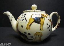Heron Cross Pottery Dogs Dogs Dogs English 3 Cup Tea Pot or 2 mugs