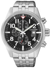 Citizen Mens Stainless Steel Chronograph Watch 100WR. AN3620-51E