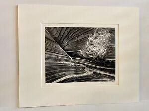 Patrick Jablonski 1996 Abstract/Canyon 8X10 Silver Gelatin Photograph
