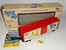 NEW K-Line K761-7611 Spirit of '76 Commemorative New York State Boxcar  MINT 76