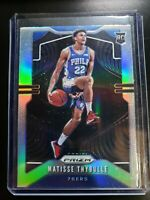 2019-20 Panini Prizm Prizms Silver Holo #290 Matisse Thybulle RC Rookie SIXERS