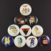 """Space Ghost Coast to Coast 1"""" Button Pin Lot Cartoon Network"""