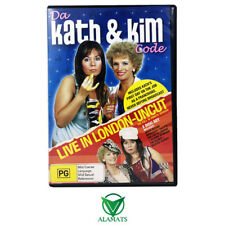 Da Kath and Kim Code (DVD) Live & Uncut London - Jane Turner - Gina Riley - Rare