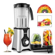 Standmixer Milchshaker Smoothie Maker 1L Blender Kaffeemühle 4 in 1 Edelstahl