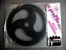 Profile 47t Ripsaw BMX Sprocket Chainwheel Black Old Logo NOS USA Made
