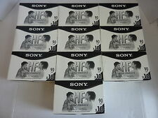Huge Lot of 100 NEW Sony 90 Min HF Normal Bias Blank Audio Cassettes Tape SEALED