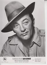ROBERT MITCHUM (Pressefoto '53) - in WEISSE FRAU AM KONGO