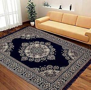 MachineWashable Abstract Chenille Carpet(5x7 ft,Multicolor)Looks Elegant In Room