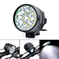 FARO 9x LED MTB 15000 LUMEN BICI FANALE CREE XM-L U2 BICICLETTA BICYCLE LIGHT T6