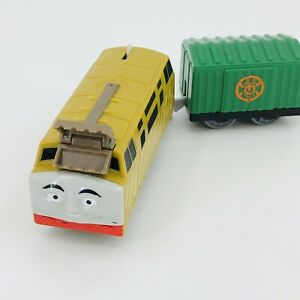 Thomas & Friends Trackmaster Diesel 10 Engine Train & Cargo Car 2013 NEW BATTERY