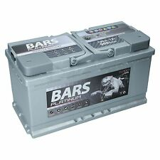 Autobatterie BARS PLATINUM 12V 100Ah Starterbatterie WARTUNGSFREI TOP ANGEBOT