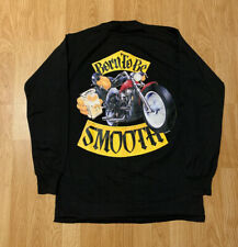 Vintage 1992 Camel Cigarettes Joe Cool Born To Be Smooth Long Sleeve Shirt Large