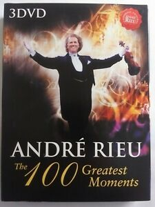 ANDRE RIEU The 100 Greatest Moments DVD Collection 3 Disc Violinist Music