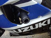 R&G Black Classic Style Crash Protectors for Suzuki GSX-R1000 2004 K4
