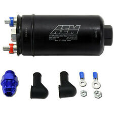 AEM High Pressure Flow In-Line Fuel Pump 380lph -10 AN Female Inlet -6 AN Outlet