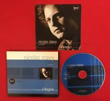 NICOLAS STAVY CHOPIN CONCERT GBM CLASSIQUE 803-1001 BON ÉTAT CD