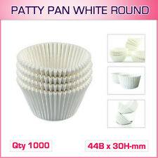 Patty Pan White Round AP 1000 ( 44b X 30h-mm )