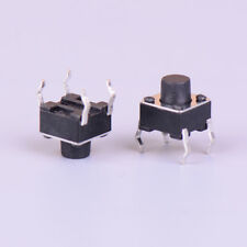 50pcs Micro Switch 666mm 4pin Momentary Tactile Push Button Cap2
