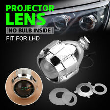 "LHD 2.5"" Mini Bi-Xenon HID Projector Kit Lens Car Hi/Lo Headlights Shroud H1"
