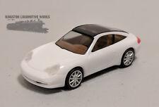HO 1:87 Herpa Porsche 911 Targa - White/Black
