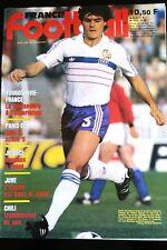 France Football 2/04/1985; JUve/ Chili; Aravena/ Paris-SG/ Yougoslavie-France