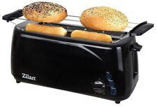 Toaster mit Brötchenaufsatz 4 Scheiben Langschlitz XXL Toastautomat Toster