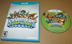 Skylanders Swap Force (Game Only) for Nintendo Wii U Fast Shipping