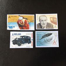 Lot de 4 timbres de Norvège années diverses - encore sur frag - F68