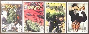 Startling Stories Banner #1,2,3,4 1993 Marvel Comics Hulk Azzarello Corben set