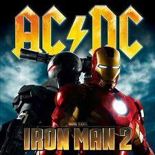 AC/DC - IRON MAN 2 Soundtrack cd & dvd rare (2 disc) Set (W booklet)