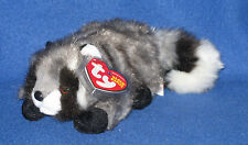 TY SNOOPS the RACOON BEANIE BABY - MINT with NEAR PEFECT TAG
