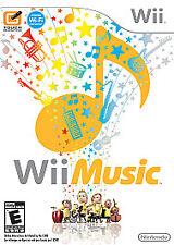 WII MUSIC NEW DVD