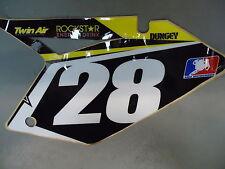 Suzuki RMZ250 2007-2009 Ryan Dungey team issue black no.28 background RM1682