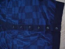 Armani Collezioni  Stripe Check Men's Cardigan Blue Size XL Brand new Retail$395