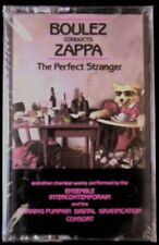 Boulez Conducts Zappa--The Perfect Stranger (Cassette, 1992, Munchkin Music) NEW