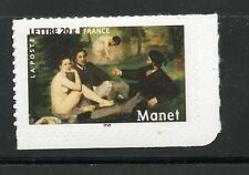 STAMP / TIMBRE FRANCE  N° 3874 ** ART PEINTURE / EDOURD MANET / ADHESF