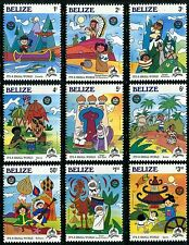 Belize Mnh, 1985, Disneyland 30th Ann. Walt Disney characters. x9941