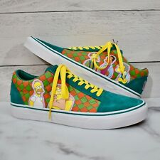Vans Old Skool X The Simpsons Moe's Tavern Mens Size 11 (New Without Box)