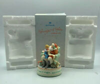 """HALLMARK DECORATIVE CHRISTMAS STATUE """"Spoonful Of Stars Dreams And Wishes"""""""