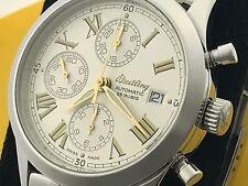 Sehr schöne BREITLING GRAND PREMIER Automatik Herren Edelstahl Armbanduhr