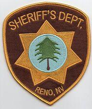 PARCHE  RENO 911 SHERIFF´S DEPT 12  CMS PATCH