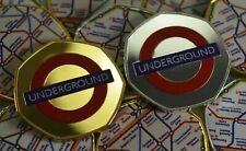 Pair of LONDON UNDERGROUND Commemoratives FULL COLOUR Album/Collectors. Limited