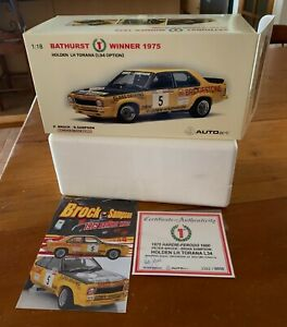 BIANTE Holden Torana L34 Bathurst Win 1975 Brock/Sampson1:18 EMPTY BOX +Cert.