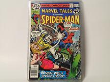 Marvel Tales #102 Marvel Comics 1979 Vf Spider-Man, Man-Wolf! Fl