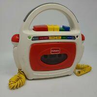 Playskool Tape Player Recorder Dual Microphones Model PS-455 Vintage Karaoke