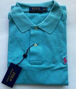 Men's Polo Ralph Lauren Classic Fit Pony Logo Mesh Short Sleeve Polo Shirt
