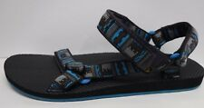 Teva Size 13 Blue Black Sandals New Mens Shoes