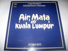 Mega Rare Malay Diva Vinyl LP SALOMA P.Ramlee's Wife AIR MATA DI KUALA LUMPUR