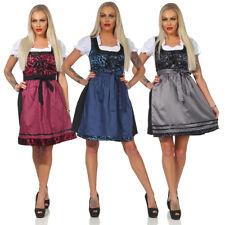 Vestito tirolese Dirndl a fiori per Oktoberfest S-M